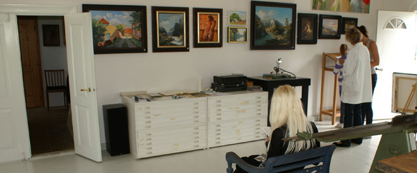 Spændende norsk kunstudstilling i Lyngså