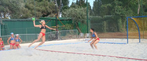 EM Sølv til Sæby-pige i strandhåndbold