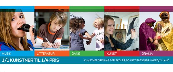 Nordjyske børns møde med kunsten