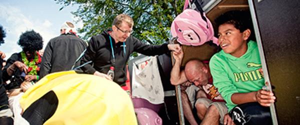 Danish Crown og UNICEF indsamlede 100.000 kr.