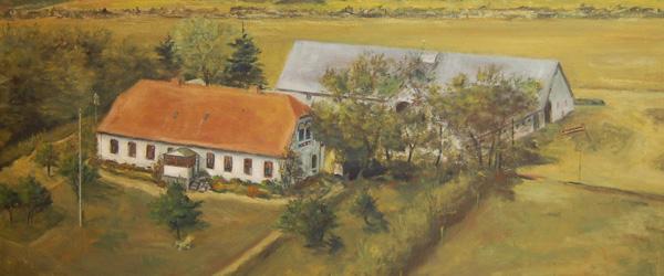 Gamle gårdbilleder og huse i Musikhuset
