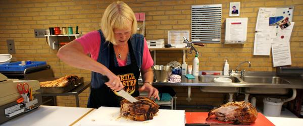 Grisefest og nye beboere på Sæby Ældrecenter