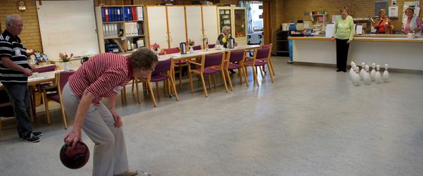 """Lokalt """"Ældre OL"""" på Sæby Ældrecenter"""