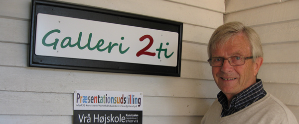 Galleri i Sæby med nyt navn holder åbent hus