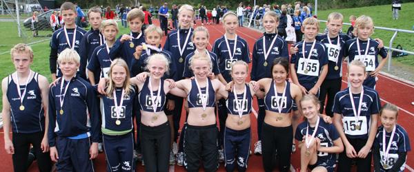 Sæby Atletik fik guldmedaljer med hjem