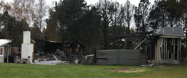Sommerhus i Lyngså udbrændte i nat