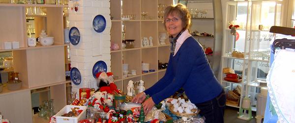 Julemarked hos Blå Kors butikkerne i Sæby