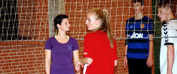 Elever på gensynsvisit på Hørby Ungdomsskole
