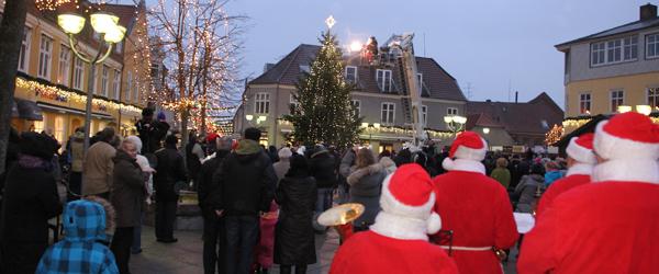Danmarks flotteste julebelysning blev tændt