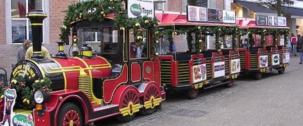 Juletog i Sæby's gader fra 1. Søndag i advent