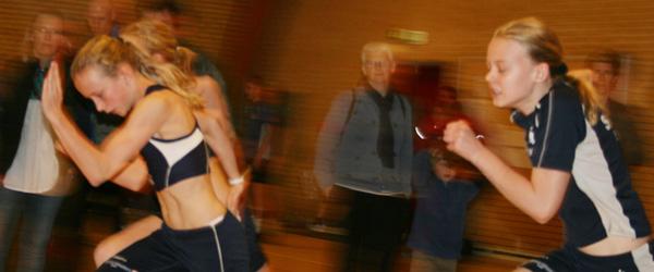 Sæby Atletik startede indendørs i weekenden