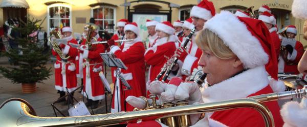 Musikkorps Sæby har skiftet til vinterdress