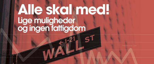 Støttekoncert lørdag aften for Danmarks fattige børn…