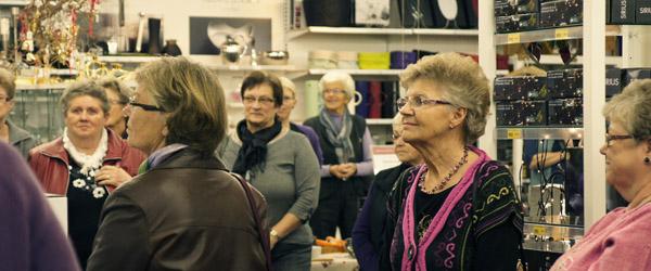 Aktive Kvinder i Sæby handlede lokalt