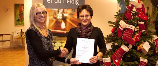 Stor julegave til Springteam Sæby fra Sparekassen