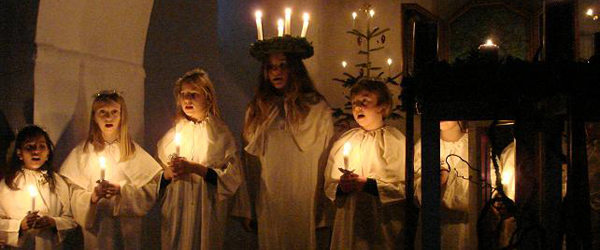 Oplevelser i Albæk-Lyngså sogn i december måned