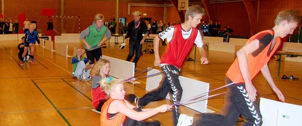 Underholdende travderby på Hørby Ungdomsskole