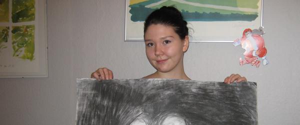 Kunstudstilling og workshop i Kulturhuset Værestedet