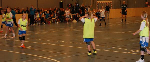 2. dag til Sæby Håndbold Klubs Julecup i Bording