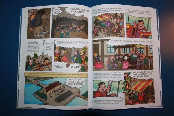 Tegneserie om Stygge Krumpen sælges på Sæby Museum