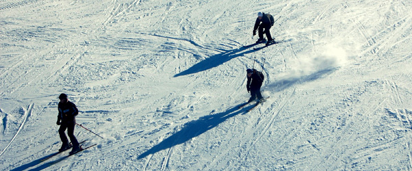 Gæster og skiforberedelser på Hørby Ungdomsskole