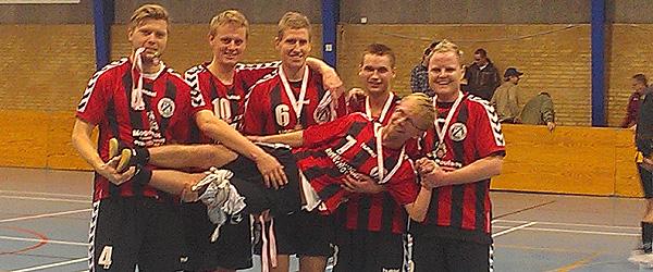 Voersaa IF fik flot 2. plads til Nordjysk mesterskab