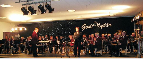 Nytårskoncerten på Hotel Viking begejstrede publikum