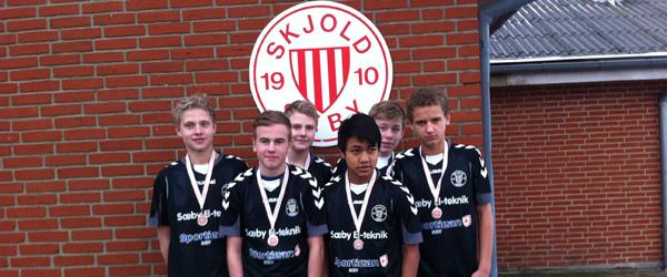 Nordjyllands suverænt bedste U15 hold kommer fra Sæby