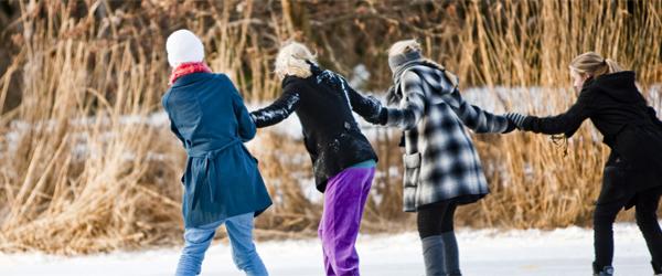 Det fryser – men færdsel på isen er forbudt!