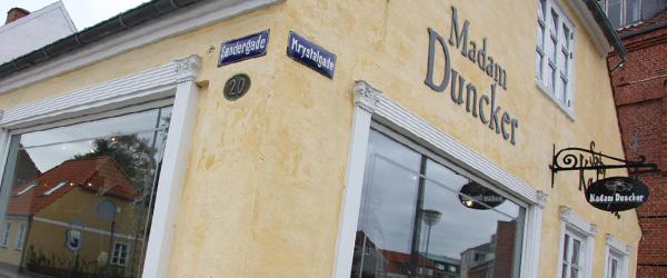 Madam Duncker i Søndergade er lukket