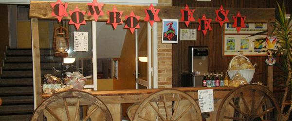 Cowboyfest for 5.A og 5.B på Stensnæsskolen