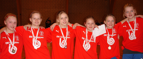 Sølvmedaljer til IF Skjold Sæby til NM