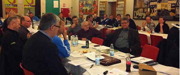15 lokale klubber var samlet på Stidsholt