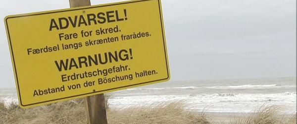 Nyhedsmagasinet Konsekvens: Havet æder sig ind på kysterne