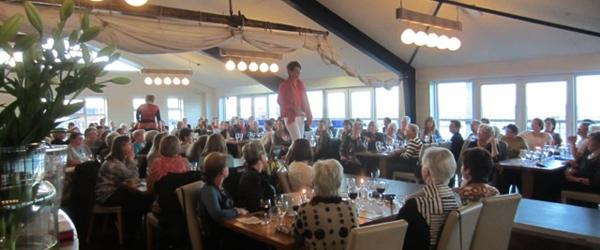 200 kvinder – og Hans Ole Kalhøj på Frank's