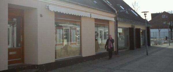 Brugskunst butik i Vestergade i Sæby lukker