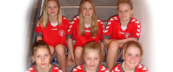 IF Skjold Sæby's U-13 piger hjem fra JM uden medaljer