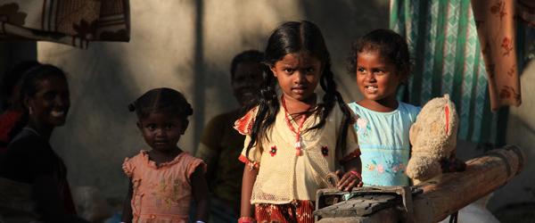 "Velkommen til ""Little India"" på Hørby-Dybvad Skole"