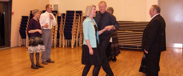 Lyst til at lære at danse Les Lanciers