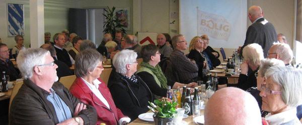 Møde i Boligforeningen for ikke bolighavende medlemmer
