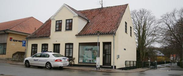 Indbrud flere steder i Sæby efter påske