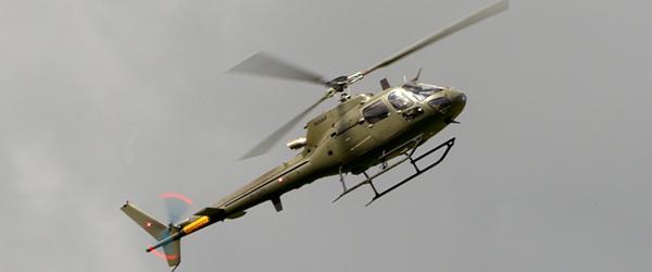 Flyvevåbnet oplyser: Helikoptere over Nordjylland