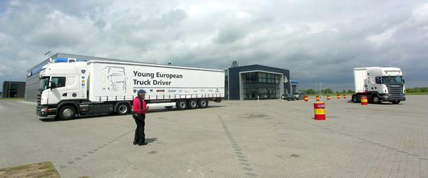 Lastbilkonkurrence med fokus på trafiksikkerhed og miljø