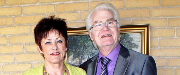 Lis og Per gæstede Sæby Ældrecenter