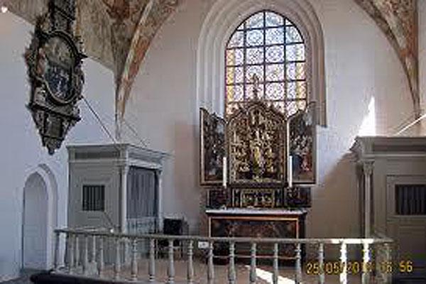 Aftengudstjeneste med skriftemål i Sæby Kirke
