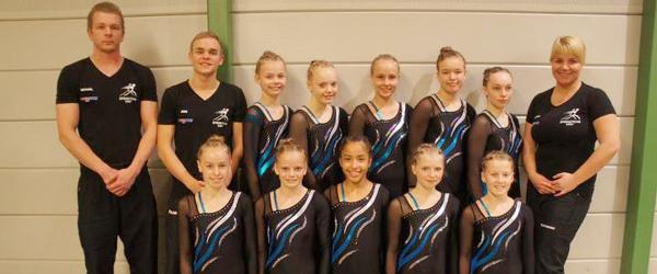 Springteam Sæby i toppen af dansk gymnastik