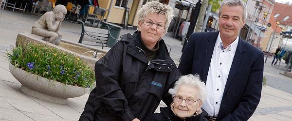Støtte til Rosengården fra Lions Club Sæby