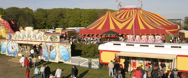 Nordens største Cirkus besøgte Sæby
