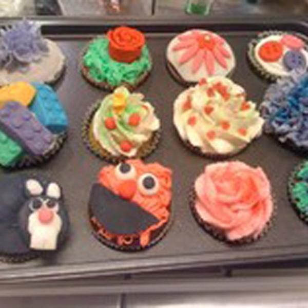 """""""Cupcakes for børn!"""" på Sæby bibliotek"""