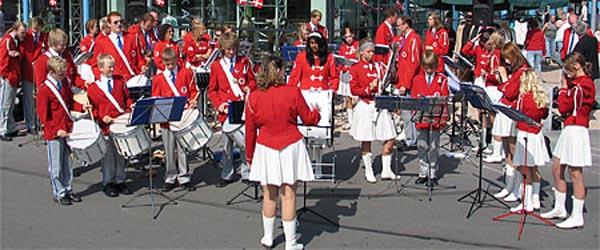 Sæbygarden gav koncert på Sæby Torv
